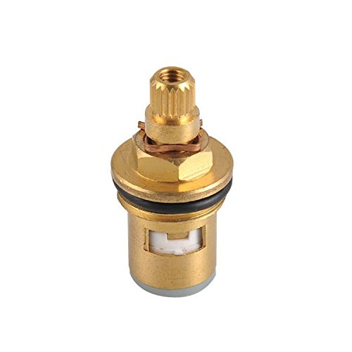 BBSLT Spool di capo nucleo valvola rapida di rame di rame valvola rubinetto raccordi spessore (Valvola A 3 Spool)