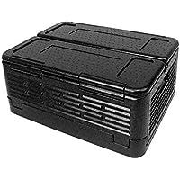LiféUP Refrigerador del Coche de, Caja de Almacenamiento al Aire Libre incubadora Plegable portátil Picnic al Aire Libre Caja de Almacenamiento de Gran Capacidad -60L