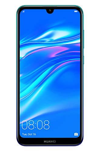 """Huawei Y7 2019 15,9 cm (6.26"""") 3 GB 32 GB SIM Doble 4G Azul 4000 mAh - Smartphone (15,9 cm (6.26""""), 3 GB, 32 GB, 13 MP, Android 8.1, Azul)"""