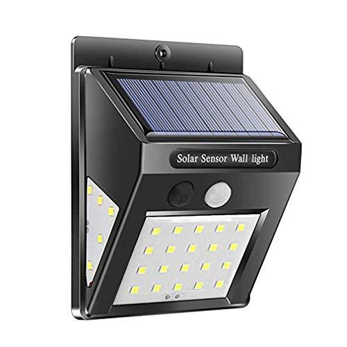 Wasserdichte 20 LED Solarleuchten Bewegungsmelder Wandleuchte Outdoor Garden Yard Lampe -