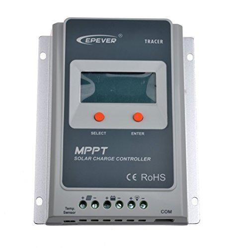 SolarEpic Tracer Serie A MPPT Regulador y controlador de carga solar, 100V de entrada FV