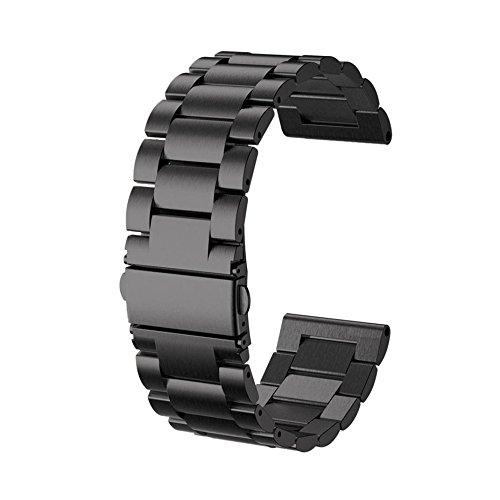 Yallylunn Stainless Steel Watch Bracelet Band Strap Einstellbar Schmutzig Klassik Sehr Einfach Zu Nehmen Und Zu Entfernen for Garmin Fenix 5X GPS Watch