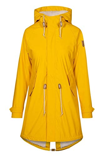 Derbe Damen Regenjacke TRAVEL COZY FRIESE yellow gelb