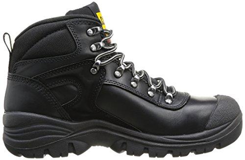 Caterpillar CAT calzature di sicurezza pneumatica P705303 S3 Nero Nero cappuccio in acciaio, Größe S Nero (Black)