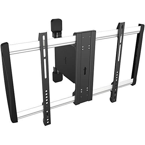 RICOO TV Wandhalterung elektrisch SE2564 für 42-70 Zoll (ca. 107-178cm) Schwenkbar mit Fernbedienung Halter Aufhängung auch für Curved LCD & LED Fernseher | VESA 300x200 600x400 Schwarz Silber