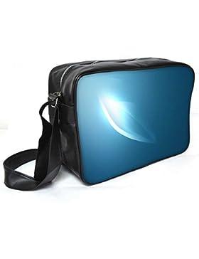 Snoogg ein Auge Design Leder Unisex Messenger Bag für College Schule täglichen Gebrauch Tasche Material PU
