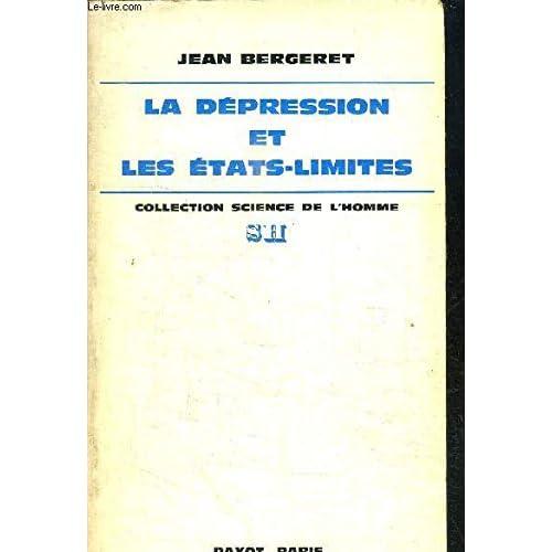 La Dépression et les états-limites : Points de vue théorique, clinique et thérapeutique (Collection Science de l'homme)