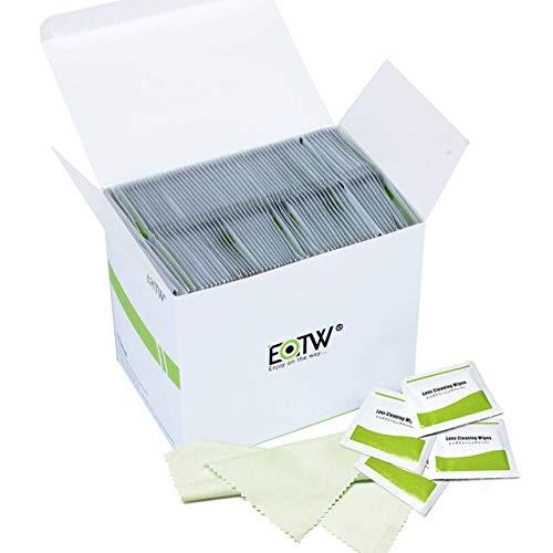 EOTW Reinigungstücher Bildschirm Feuchte, 240 Stück Display Reinigungstücher für Notebook, Tablet PC, Monitor, LCD, Handy, Uhren und iPad, mit 1 Mikrofasertuch