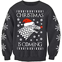 Game of Thrones Inspired Adults Winter is Coming Novelty Christmas Sweatshirt Jumper