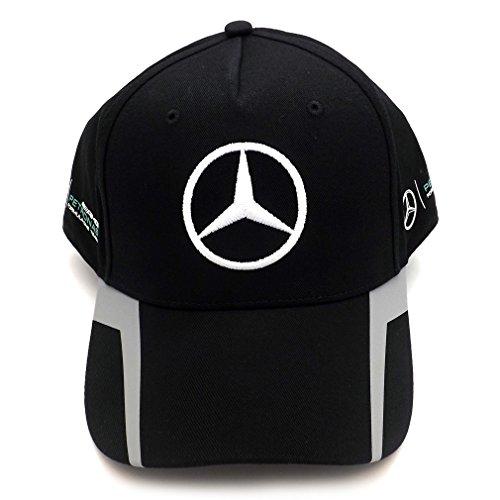 Mercedes AMG F1 Replica Driver Puma Hamilton Baseball Cap Black Official 2016 Test