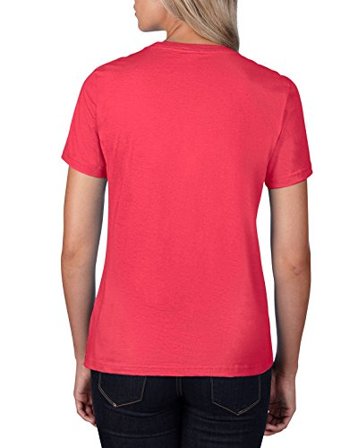 anvil Damen T-Shirt / 880 Coral