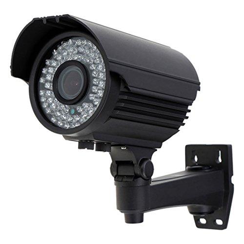 ueberwachungskamera - SODIAL(R)ueberwachungskamera im Freien CCTV 1200TVL LED IR-CUT Zoom Gleitsicht