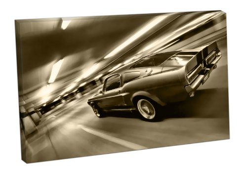 leinwanddruck-motiv-ford-mustang-shelby-gt-500-24x16-inch-sepia