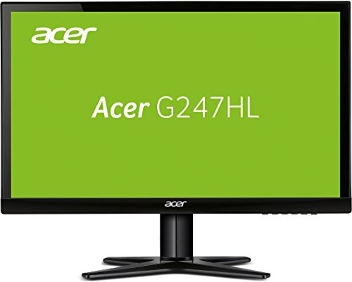 Acer G7 G247HYLbidx 23.8-Inch PC Flat Panels - Black Gloss