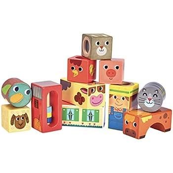 Vilac 7718 Cubes Sonores de la Mer