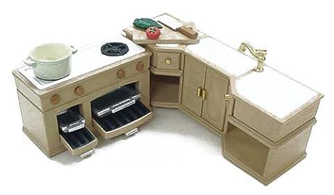 Epoch Sylvanian Families Sylvanian Furniture Kitchen Set Ka-411 (japan import)