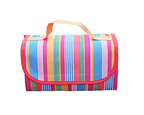 honeystore-picnic-time-outdoor-blanket-tote-waterproof-blanket-tote-park-mat-compact-camping-rug-bea