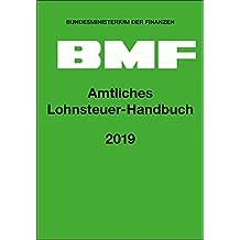 Amtliches Lohnsteuer-Handbuch 2019