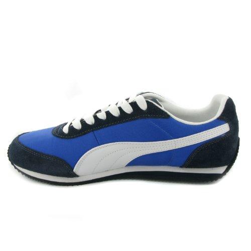 Puma Scarpe Uomo Sneakers Modello 352731 02 Blu-Bianco