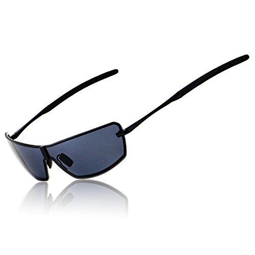 RONSOU Hommes UV400 Lunettes De Soleil Polarisées Miroir Pour Conduite Pêche Golf En Plein Air...
