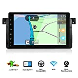 YUNTX Android 8.0 Autoradio pour BMW E46/ M3 / 3 series(1998-2005)   GPS 2 Din   Canbus   9 pouces   Écran tactile LCD   2GB ROM   32GB RAM   DAB+ soutien   3G/4G   WLAN   Bluetooth   MirrorLink   RDS