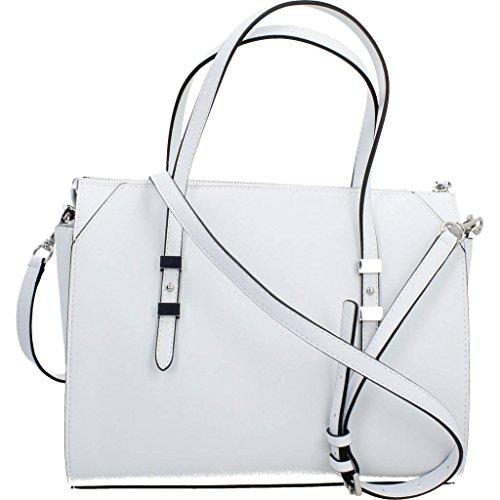Sacs - Maroquinerie, couleur Blanc , marque GUESS, modÚle Sacs - Maroquinerie GUESS GIA SATCHEL Blanc Blanc