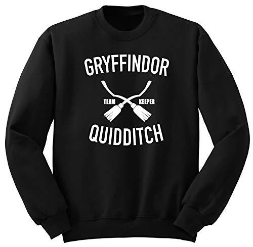 Gryffindor Quidditch Harry Potter Sweatshirt PulloverM