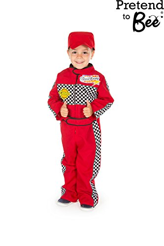 F1 Racing Driver - Kids Costume 3 - 5 (Mcqueen Lightening Kostüme)