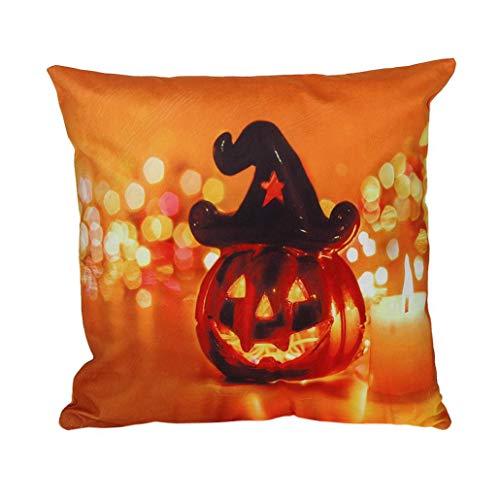 serliy Halloween Flauschige kissenbezüge spannbettlaken Hause sofakissenbezug günstige schöne Kissen IKEA Moderne kissenhüllen Plüsch Hohe Qualität Polsterung weich Baumwolle (Billig Zubehör Halloween)