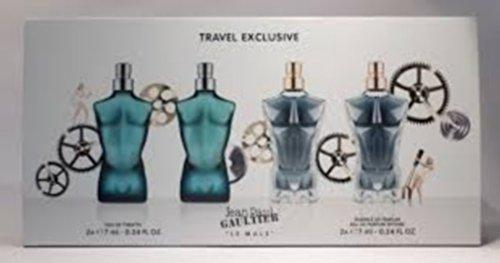 Coffret / Gift Set Miniature Jean Paul Gaultier Le Male 2X 7ml Eau de toilette & 2X 7ml Essence De Parfum