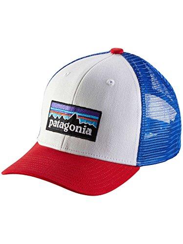 patagonia-cappello-ragazzo-bianco-rosso-taglia-unica