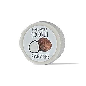 Haslinger Rasierseife Coconut – Kokos