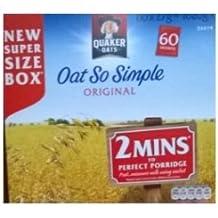 Avena Quaker Oats Así Simple Sabor - 1 x 50 sobres