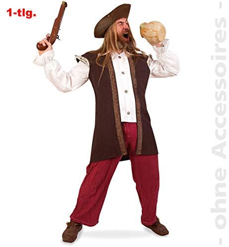 Mittelalterliche Kostüm Wirt - Unbekannt Wirt Kostüm Herren Seeräuberkostüm Mittelalterliches Gewand Pirat Herrenkostüm