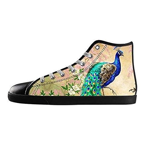Dalliy beau paon Men's canvas Footwear Sneakers Shoes Chaussures de toile Baskets