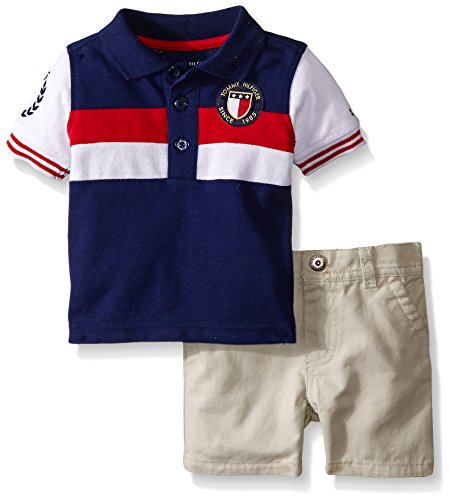 9dcdb27b Tommy hilfiger 0096413954788 Baby Boys Pique Polo Shirt- Price in India