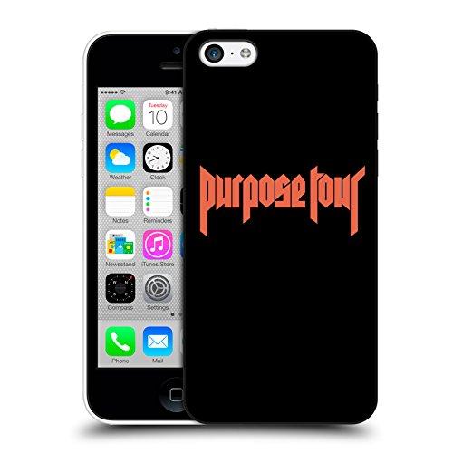 Head Case Designs Offizielle Justin Bieber Logo Tour Merchandise Ruckseite Hülle für iPhone 5c