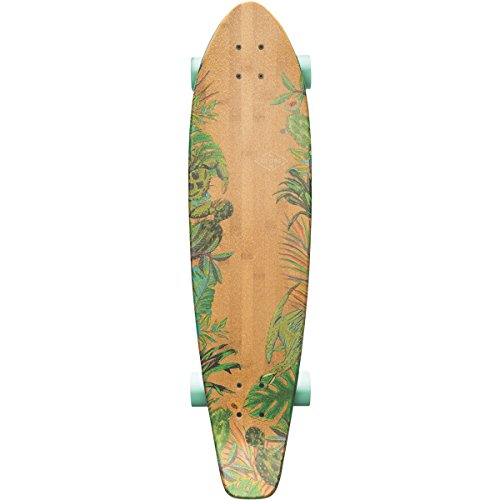 Globe The All-Time Bamboo Skateboard, Prickly Pear, 35 -