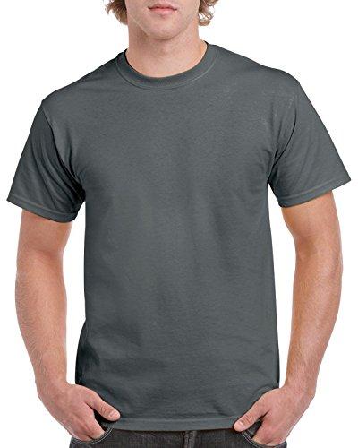 Gildan Herren T-Shirt Heavy Cotton Tee Dunkelgrau