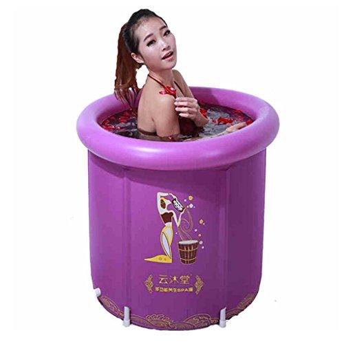 Gxf1222 GXF Aufblasbare Badewanne - Faltbare Portable Adult Bathtub Stand Verdickung Gesundheit SPA Blume Bad gelten für Badezimmer Schlafzimmer im Freien Pool Garten badewannenzubeh -