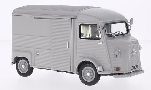 Citroen Type H, matt-hellgrau, 0, Modellauto, Fertigmodell, Welly - Citroen Modell