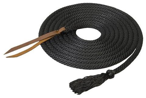 Silvertip Solid Braid Mecate, Black, 5/8-Inch x 22-Feet