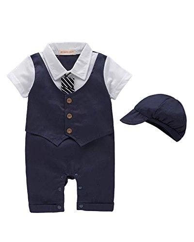 Kidsform - Mono - para bebé niño Azul azul cobalto 18 - 24 Meses