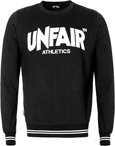 UNFAIR ATHLETICS Herren Oberteile / Pullover Classic Label schwarz 2XL