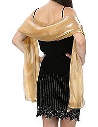Amazon.it  Stola Di Oro - Sciarpe e stole   Accessori  Abbigliamento aef5aa4ff47