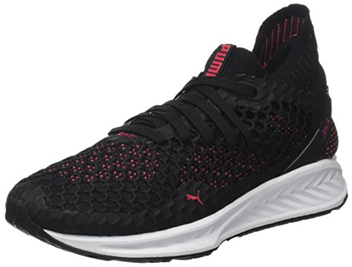 Cross-trainer Schuhe (Puma Damen Ignite Netfit WN's Cross-Trainer, Schwarz Black-Paradise Pink, 38 EU)