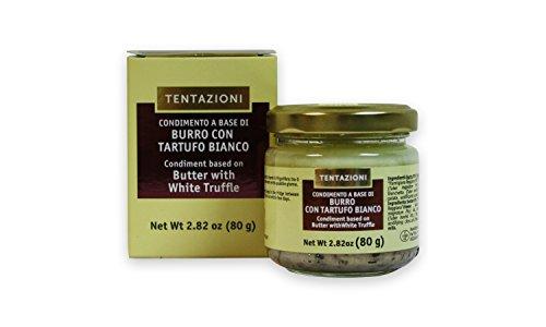 Preisvergleich Produktbild 80g Italienische Trüffelbutter mit 5% weißem Trüffel und Parmigiano Reggiano DOP