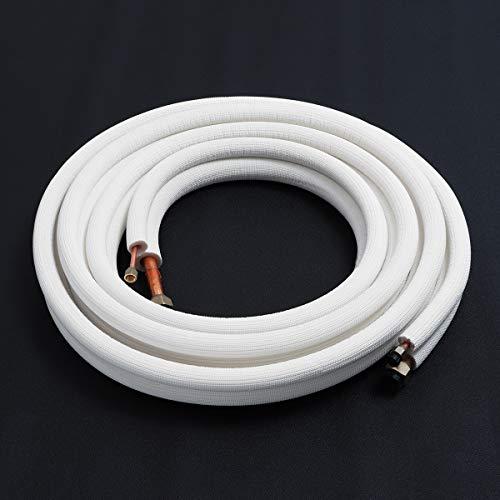 """Características del artículo: Material: Material mezclado de cobre y aluminio Tubo de cobre:1/4"""", 5/8"""" Longitud del tubo: 1m / 2m / 3m / 4m / 7m Función: Aplicado en Aire Acondicionado, Refrigeración Funciones: 1m /2m /3m /4m /7m ,opción múltiple. ·..."""