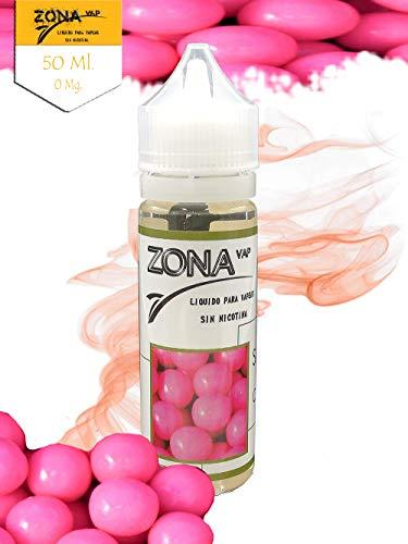 Zona Vap Chicle 50ml E líquido Liquido Vaper Para