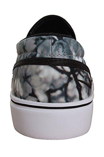 Nike Wmns Toki Slip Cherry Bls, Scarpe sportive Donna Grigio (Gris (Wolf Grey / Black-White))